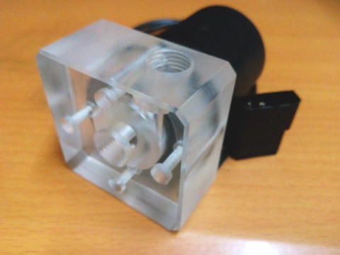 [ BANDUNG ] PUMP Water Cooling w/ Top Cover Acrylic