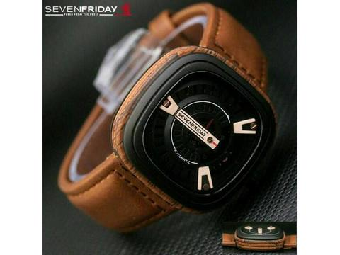 GOJEK REKBER*Jam Tangan Sevenfriday Sf016 Brown