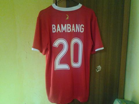 Jersey Indonesia Home 2007 #20 Bepe