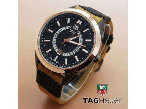 GOJEK REKBER*Jam Tangan Tag Heuer 7423A Light Brown