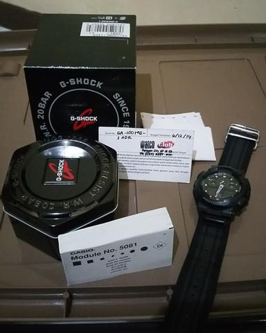 Casio G-Shock GA 100MC 1A