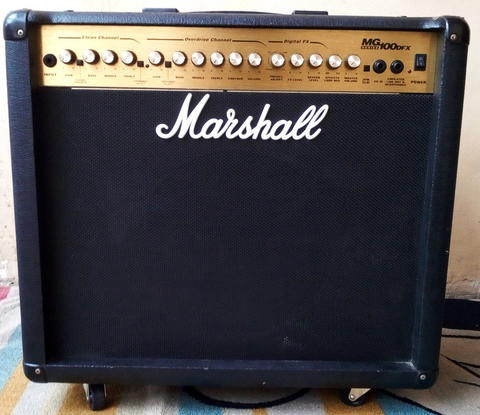 Guitar Amplifier Marshall MG-100 DFX Made in India