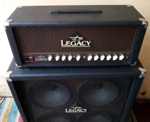 Guitar Amplifier Head Cabinet CARVIN Legacy 100 [ All Tube ]... Made in USA
