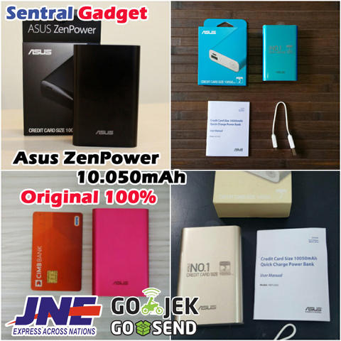 POWERBANK ORIGINAL ASUS ZENPOWER 10.050MAH | POWER BANK ZEN POWER BERGARANSI