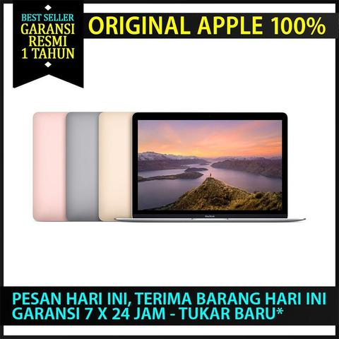 READY STOK!! BNIB APPLE MACBOOK 12 MLH72 (RETINA) - Core-M3 - RAM 8GB- (2016)