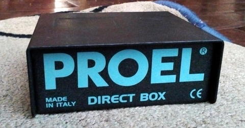 Direct BOX Proel Made in : Italy