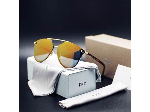 Kacamata Wanita Dior Reflected Sunglass Gold