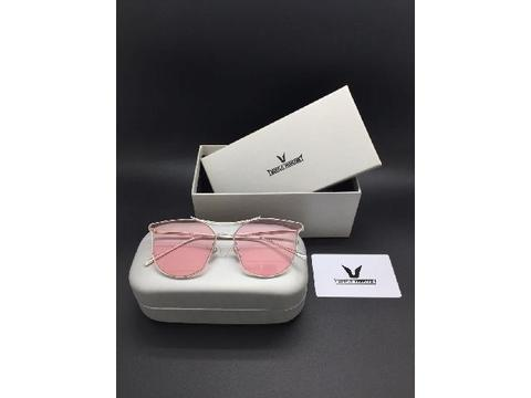 Kacamata Sunglass Gentle Monster 9056 Pink Bening