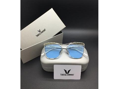 Kacamata Sunglass Gentle Monster 9058 Biru Bening