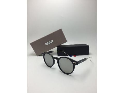 Thom Browne Folding Silver Kacamata Sunglass Fashion Wanita
