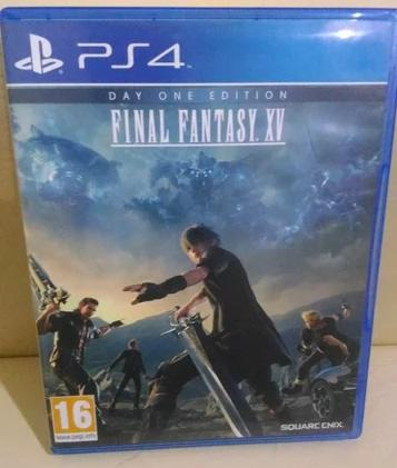 Final Fantasy 15 XV FFXV PS4 DAY ONE EDITION MULUSSS