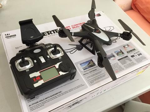 WTS drone Mjx x401h with camera murah