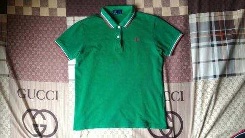 Terjual Fredperry fred perry polo shirt twin tipped for Women kid ... 7f5c75cf03