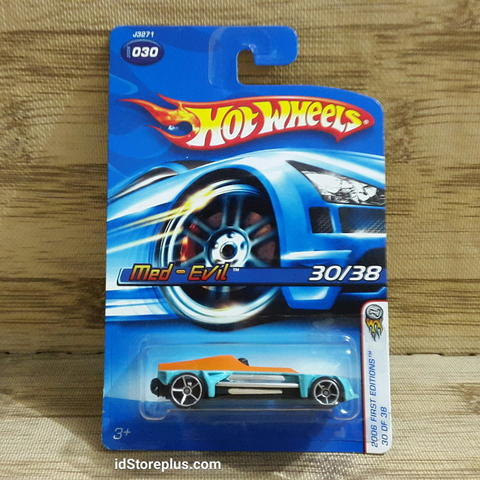 HOT WHEELS MED-EVIL 2006 FIRST EDITIONS 30/38