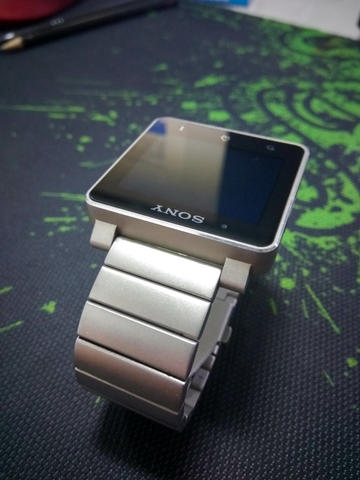 [2nd] Sony SmartWatch 2 SW2 Metal Silver (Bandung)