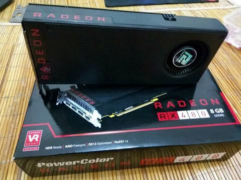 [WTS] PowerColor RX480 8GB 256bit GDDR5 Reference