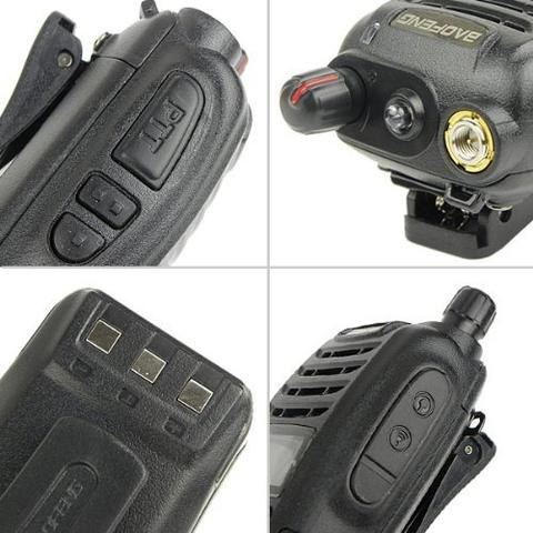 +++ Radio Walkie Handy Talky HT BAOFENG POFUNG UV-B6 Dual Band VHF UHF +++
