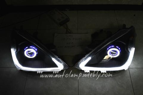 custom headlamp avanza venia vvti 2010