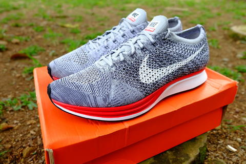 best sneakers 76328 1dbe8 ... kaskus NIKE FLYKNIT RACER NO PARKING RED GREY BNIB (not jordan nmd  yeezy oreo multicolor) NIKE Shoes ...