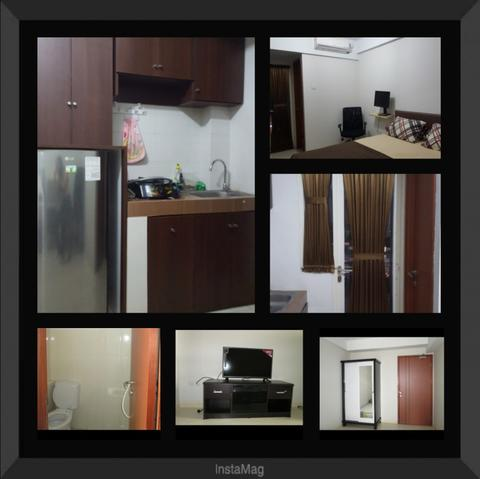 Sewa apartement green lake view ciputat (furnish)