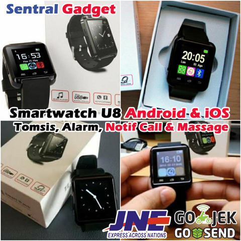 JAM TANGAN PINTAR / SMARTWATCH U WATCH U8 WITH BLUETOOTH CONNECTION