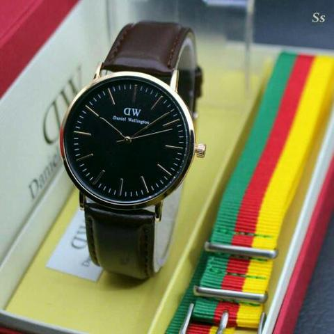 Dw Paket Dw021 Dark Brown Rosegold D