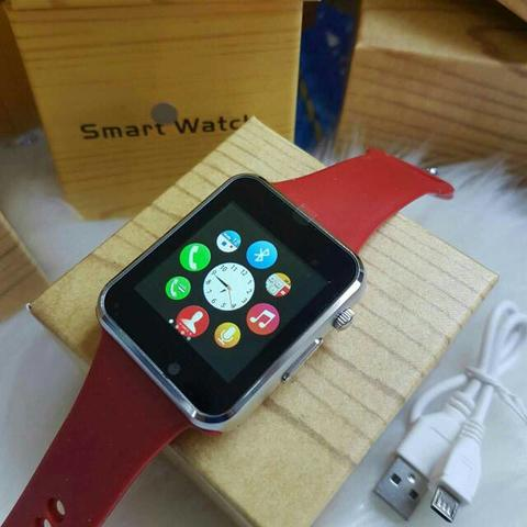 Smart Watch Sw01 Red