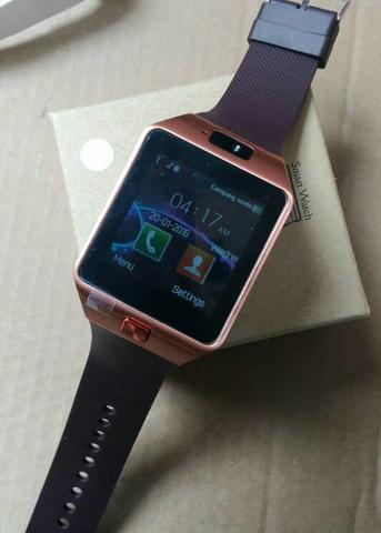 Smart Watch Sw02 Brown Rosegold