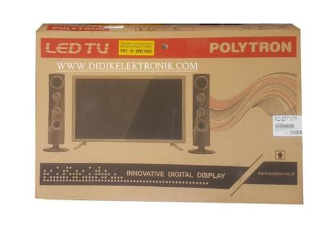 Dijua murah LED TV 32 INCH POLYTRON PLD32T711/TY CINEMAX