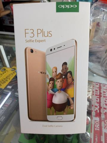 READY OPPO F3 Plus Smartphone - Gold [64GB/ RAM 4GB]