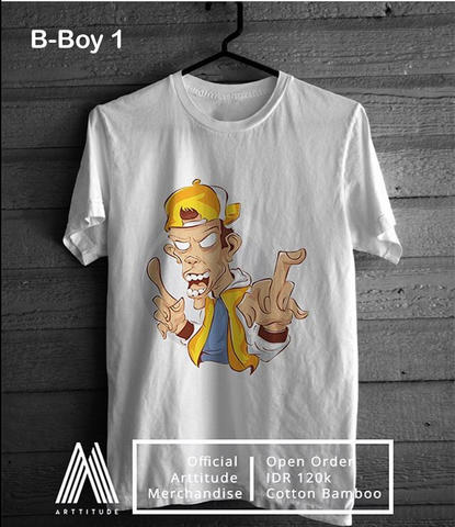 ARTTITUDE CLOTHING.LINE | cotton bamboo + DTG PART 1
