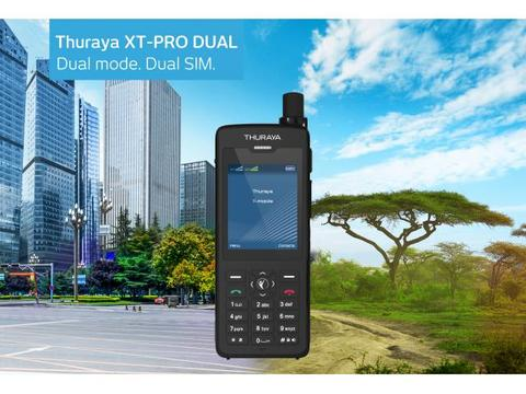 Telepon satelit Thuraya XT Pro Dual jaringan All Band