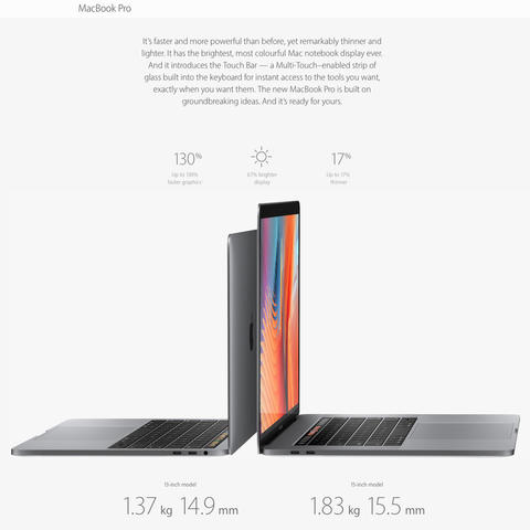 MacBook Pro 2016┃A touch of genius.┃13 and 15 inch┃NEW┃100% Aman
