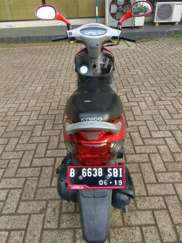 MOTOR MATIC KYMCO EASY 100cc 2004 Full Original Tangan Pertama Cat Ori Murah
