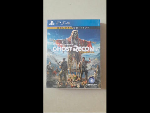 WTS GAME PS 4 Ghost Recon Wild Lands Deluxe Edition kaya baru