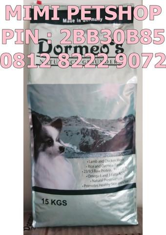 Dog Food Murah DORMEOS LAMB AND CHICKEN MEALS Made In Germany