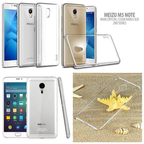 Aksesoris Meizu M5 Note - Imak Crystal Clear Hard Case 2nd Series