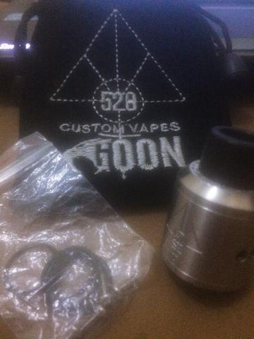 Authentic RDA GOON by 528 Custom Vapes - 24mm SS