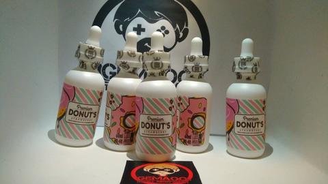 Liquid Premium Donut's Strawberry (liquid Vape )
