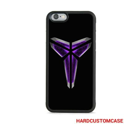 Kobe Bryant Black Mamba iPhone 6 / 6s TPU Hybrid (Soft Rubber Side) Case