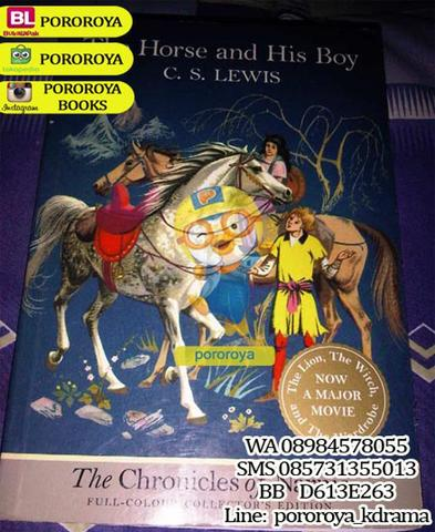 Novel THE CHRONICLES OF NARNIA: HORSE & HIS BOY FULL COLOR (English)