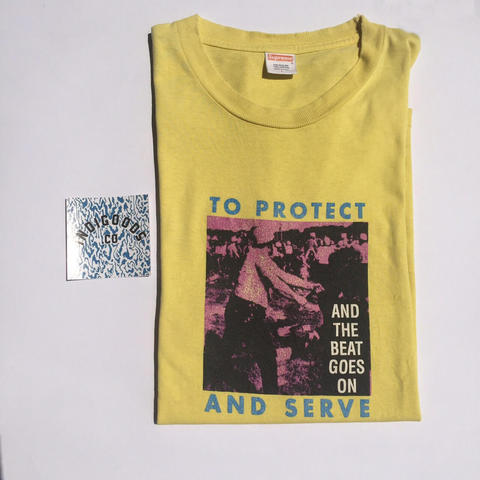 Supreme 'To Protect and Serve' S/S 2008 (not Bape, Stussy, Palace, Undefeted)