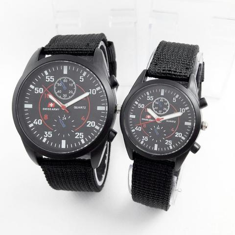 JAM TANGAN SWISS ARMY 228 COUPLE