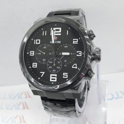 JAM TANGAN EXPEDITION 6401 BLACK ORIGINAL