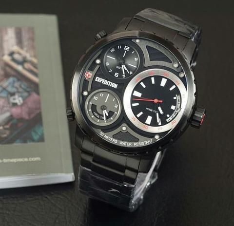 JAM TANGAN EXPEDITION 6718 3TIME ORIGINAL