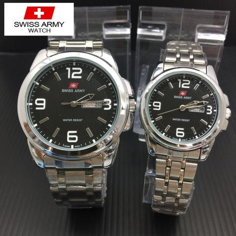 JAM TANGAN SWISS ARMY 5221 COUPLE