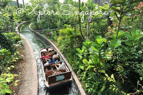 Tiket River Safari + Boat Ride Dewasa