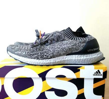 low priced 95d32 dfd2b Ultra Boost Uncaged Silver Boost