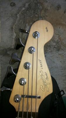 squier jbass affinty made in china