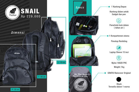 Pulcher Bags Your Local Brand NEW ITEM (Backpack, Slingbag, Waistbag, Briefcase)